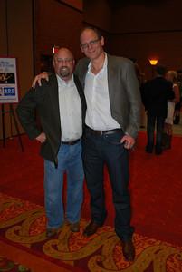Tim Huber and George Hamilton (1)