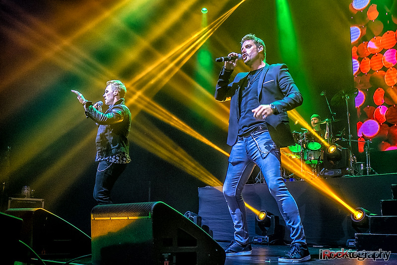 Boyzone performing in Manila