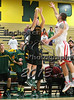 Matt Lee during the Brockport Men's basketball game v. the Plattsburgh Cardinals at the Jim and John Vlogianitis Gymnasium in Brockport, NY Photo: Christopher Cecere
