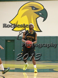 Bobby Bell during the Brockport Men's basketball game v. the Plattsburgh Cardinals at the Jim and John Vlogianitis Gymnasium in Brockport, NY Photo: Christopher Cecere