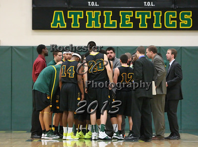 Brockport Men's basketball game v. the Plattsburgh Cardinals at the Jim and John Vlogianitis Gymnasium in Brockport, NY Photo: Christopher Cecere