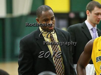 Coach Ricky Hollis