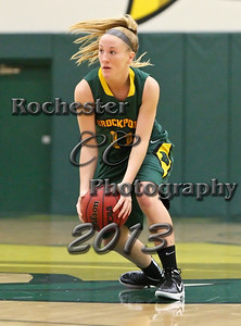 Erin Cunningham during the Brockport Women's basketball game v. the Plattsburgh Cardinals at the Jim and John Vlogianitis Gymnasium in Brockport, NY Photo: Christopher Cecere