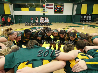 Brockport Women's basketball game v. the Plattsburgh Cardinals at the Jim and John Vlogianitis Gymnasium in Brockport, NY Photo: Christopher Cecere