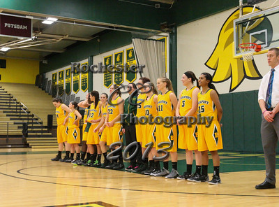 November 23, 2013;  Brockport, NY; USA; Brockport Golden Eagles Women's Basketball vs. Cazenovia Wildcats at Jim and John Vlogianitis Gymnasium  Photo: Christopher Cecere