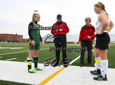 Gina Stephan,  Courtney Collins, Referees