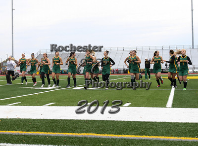 October 19, 2013;  Brockport, NY; USA; Brockport Golden Eagles Field Hockey vs. Oswego Lakers at Bob Boozer Field  Photo: Christopher Cecere