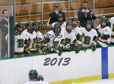 November 15, 2013;  Brockport, NY; USA; Brockport Golden Eagles Hockey vs. Elmira Soaring Eagles at Tuttle Ice Rink  Photo: Christopher Cecere