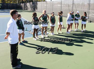 September 23, 2013;  Brockport, NY; USA; Brockport Golden Eagles Tennis vs. Oswego Lakers at Brockport Tennis Courts  Photo: Christopher Cecere