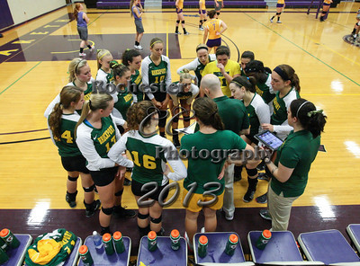 September 11, 2013;  Pittsford, NY; USA; Brockport Golden Eagles Volleyball vs. Nazareth Golden Flyers at Otto A. Shults Center @ Nazareth  Photo: Christopher Cecere