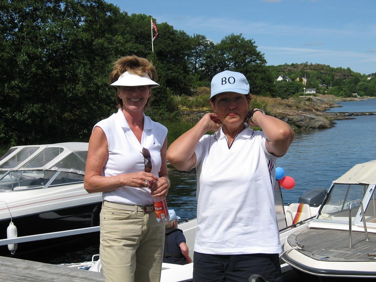 Kari og Anne Grethe