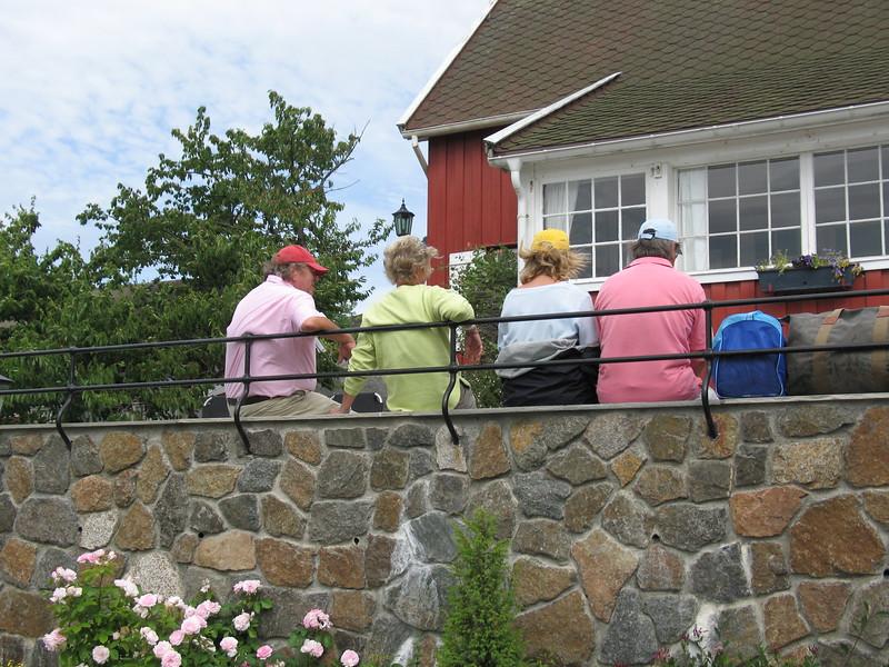 I pastell på BårdEllens terrasse