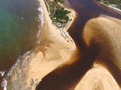 Foz do Rio Caraiva