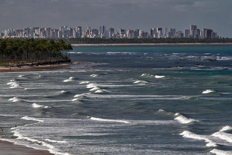 Praia de Itapuama em Pernambuco