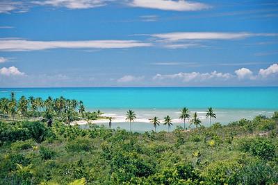 Ponta do Camarão em Caraíva