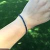 13.50ctw French Cut Sapphire Platinum Bracelet 3