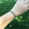13.50ctw French Cut Sapphire Platinum Bracelet 24
