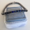 13.50ctw French Cut Sapphire Platinum Bracelet 8