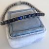 13.50ctw French Cut Sapphire Platinum Bracelet 4