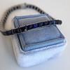 13.50ctw French Cut Sapphire Platinum Bracelet 25