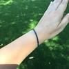 13.50ctw French Cut Sapphire Platinum Bracelet 22