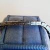13.50ctw French Cut Sapphire Platinum Bracelet 7