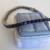 13.50ctw French Cut Sapphire Platinum Bracelet 13