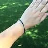13.50ctw French Cut Sapphire Platinum Bracelet 19