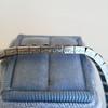 13.50ctw French Cut Sapphire Platinum Bracelet 10
