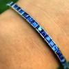 14.25ctw Vintage Sapphire Nice Bracelet 10