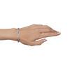 1.87ctw Diamond and Pink Sapphire Art Deco Inspired Bracelet 3