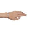 1.87ctw Diamond and Pink Sapphire Art Deco Inspired Bracelet 9
