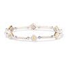 1.87ctw Yellow and White Diamond Bracelet