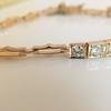 2.70ctw+ Transitional Cut Diamond Bracelet Circa 1930s 15
