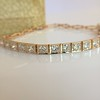2.70ctw+ Transitional Cut Diamond Bracelet Circa 1930s 6