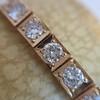 2.70ctw+ Transitional Cut Diamond Bracelet Circa 1930s 3