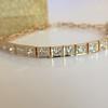 2.70ctw+ Transitional Cut Diamond Bracelet Circa 1930s 0