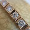 2.70ctw+ Transitional Cut Diamond Bracelet Circa 1930s 14