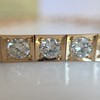 2.70ctw+ Transitional Cut Diamond Bracelet Circa 1930s 11