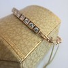 2.70ctw+ Transitional Cut Diamond Bracelet Circa 1930s 7