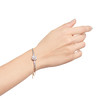 2.78ctw Victorian Cushion Cut Cluster Bangle, French 2