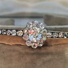 2.78ctw Victorian Cushion Cut Cluster Bangle, French 7
