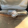 2.78ctw Victorian Cushion Cut Cluster Bangle, French 3