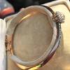 2.78ctw Victorian Cushion Cut Cluster Bangle, French 30