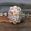 2.78ctw Victorian Cushion Cut Cluster Bangle, French 4