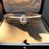 2.78ctw Victorian Cushion Cut Cluster Bangle, French 33