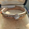 2.78ctw Victorian Cushion Cut Cluster Bangle, French 29