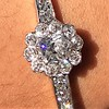 2.78ctw Victorian Cushion Cut Cluster Bangle, French 46