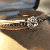 2.78ctw Victorian Cushion Cut Cluster Bangle, French 19