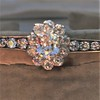 2.78ctw Victorian Cushion Cut Cluster Bangle, French 31